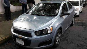 Chevrolet Sonic en renta en la Ciudad de México