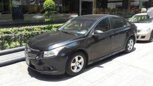 Chevrolet Cruze en renta en la Ciudad de Mexico