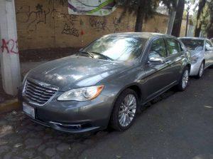 Chrysler 200 en renta en la Ciudad de México