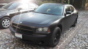 Dodge Charger Negro en renta en la Ciudad de Mexico