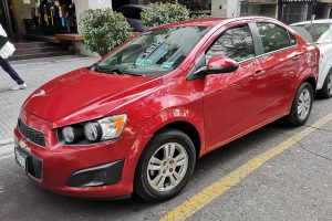 Chevrolet Sonic en renta en la Ciudad de Mexico
