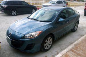 Mazda 3 en renta en la Ciudad de Mexico