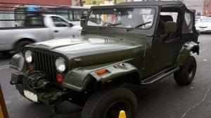 Jeep militar 80s en renta CDMX