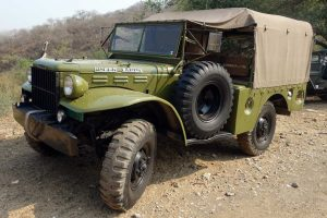 Dodge power wagon militar en renta en México