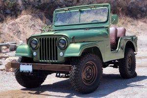 Jeep verde en renta en CDMX