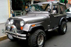 Jeep Clásico en Renta en la Ciudad de México