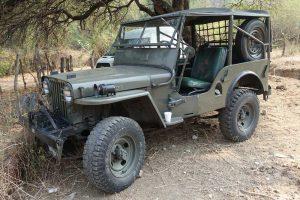 Jeep Willis Militar en renta en la Ciudad de México