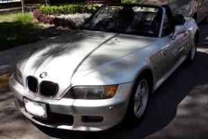 Renta de BMW Z4 Gris Plata Convertible en la Ciudad de México