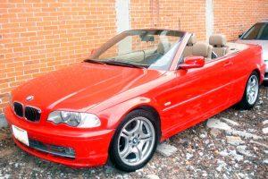 BMW Rojo Convertible en Renta en CDMX