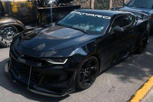 Chevrolet Camaro Negro en renta CDMX