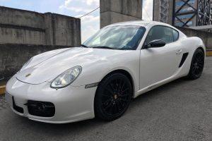 Porsche cayman blanco en renta en la ciudad de México