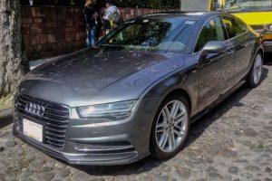 Audi A7 en renta den la Ciudad de México