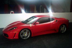 Ferrari f430 rojo en renta en la Ciudad de México