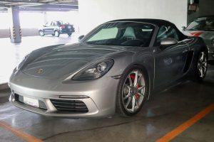 Renta Porsche Boxster en México para filmaciones y eventos