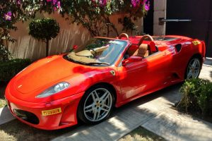 Ferrari f430 spider convertible en renta en México