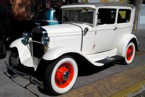 Renta Ford 1929 Blanco en la Ciudad de México