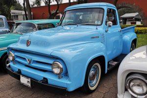 Renta Ford Pick Up 1953 Azul en la Ciudad de México