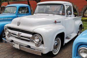Renta Ford Pick Up 1953 Blanca en la Ciudad de México