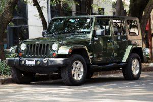 Renta Jeep Sahara Verde en la Ciudad de México