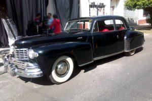 Renta Lincoln Continental 1946 Negro en la Ciudad de México