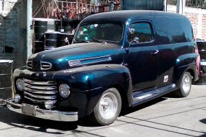 Renta Chevrolet Panel 1949 Azul en Ciudad de México