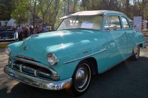 Renta Plymouth 1952 Azul en la Ciudad de México