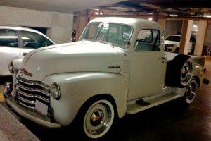 Renta Chevrolet Pick Up 1948 Blanca en Ciudad de México