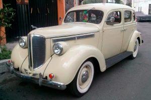 Renta Dodge 1938 Crema en la Ciudad de México