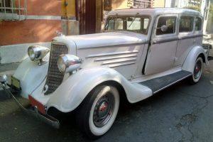 Renta Dodge Brothers 1934 Blanco en la Ciudad de México