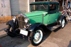 Renta Ford 1930 Verde en la Ciudad de México
