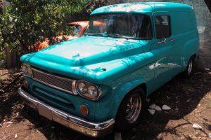 Renta Ford Panel Azul 1955 en la Ciudad de México