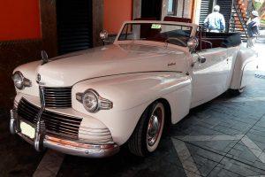 Renta Lincoln Continental 1948 Convertible Blanco en la Ciudad de México