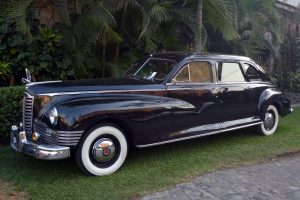 Renta Lincoln Continental 1942 Negro en la Ciudad de México