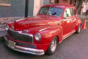 Renta Mercury 1947 Rojo en la Ciudad de México