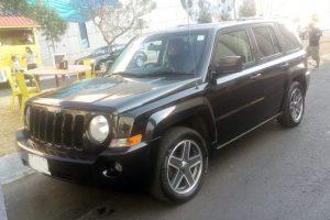 Renta Jeep Patriot Negra en la Ciudad de México