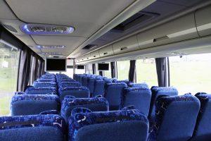 Renta autobús volvo blanco 46 pasajeros en la ciudad de mexico