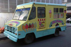 Camion de helados en renta para filmaciones en México