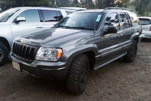 Renta jeep grand cherokee 2004 gris oxford en la ciudad de México