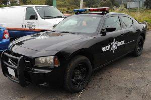 Renta patrulla Dodge Charger negra en la Ciudad de México para filmaciones