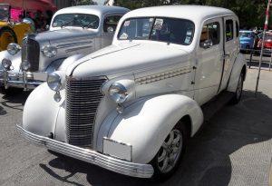 Renta Chevrolet Blanco 1938 Clásico en la Ciudad de México