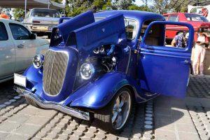 Renta Pick Up 1937 ford azul en la ciudad de mexico