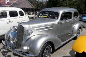 Renta chevrolet clásico 1936 plata