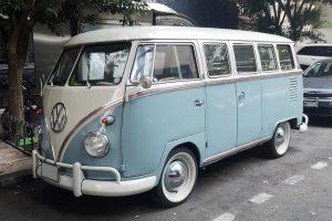 renta combi vw 1962 azul en la ciudad de mexico