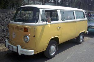 Renta vw combi 1976 amarilla en la ciudad de mexico