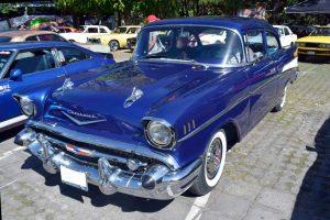 Renta chevrolet 1957 azul en la ciudad de México