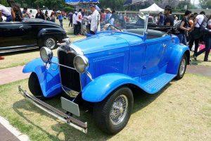 Renta ford 1940 azul en la Ciudad de México
