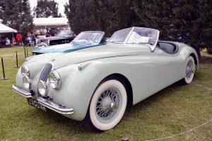 Renta Jaguar Verde 1954 en la Ciudad de México|