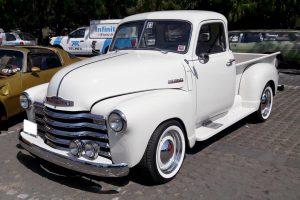 Renta pick up 1948 blanca en la ciudad de mexico