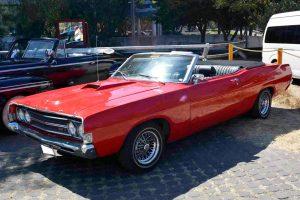 Renta ford torino 1969 rojo en la ciudad de mexico