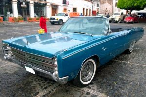 Renta Plymouth 1967 azul en la Ciudad de México